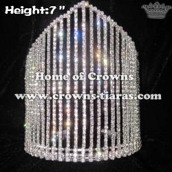 7inch Wholesale Queen Rhinestone Crowns