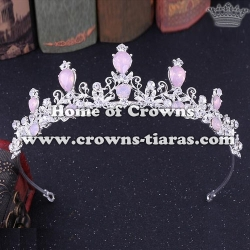 Wholesale Beauty Party Crowns With Diamonds