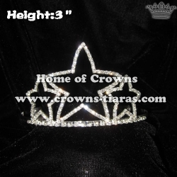 Wholesale 3inch Star Pageant Crowns