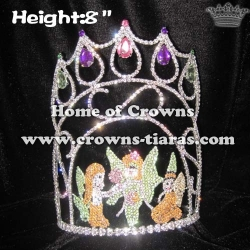 Cute Unique Fairy Pageant Crowns