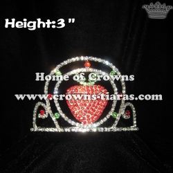 Mini Crystal Strawberry Pageant Crowns