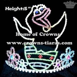Alligator Shaped Crystal Crowns