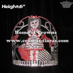 Custom Hollywood Camera Pageant Crowns