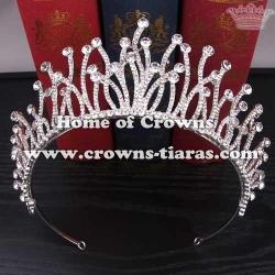 Unique Alloy Crystal Wedding Bridal Crowns