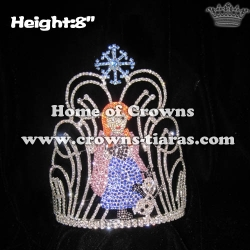 Crystal Custom Pageant Crowns With Anna Olaf