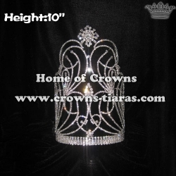 10inch Wholesale Crystal Pageant Crowns