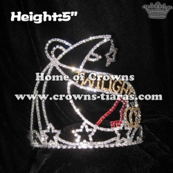 Crystal Twilight Pumpkins Pageant Star Crowns