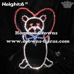 6inch Teddy Bear Crowns and Tiaras