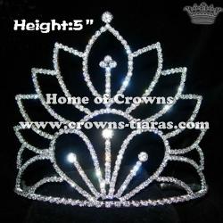 Vintage Crystal Pageant Crowns