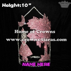 10inch Moon Girl Coconut Plam Custom Crowns
