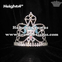 Cute Girl Crystal Princess Crowns And Tiaras