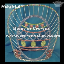 8inch Easter Egg Easter Festival Crowns