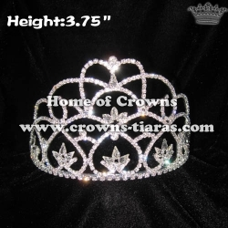 Clear Crystal Diamond Princess Pageant Crowns