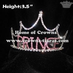 Purple Prince Crystal Boy Crowns