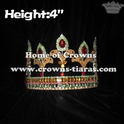 4inch Crystal Fleur De Lis Pageant Crowns