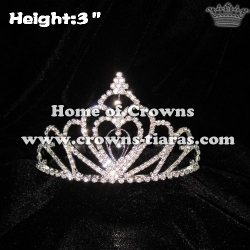 High Quality Heart Pageant Crowns