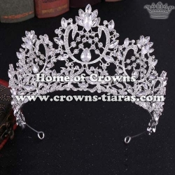 Unique Wedding Pageant Crowns With Blue Diamonds