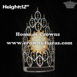Wholesale Large Crystal Pageant Summer Crowns