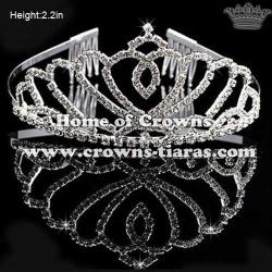 Heart Shaped Wholesale Rhinestone Princess Crown