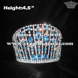 Big Blue Diamond Queen Crowns Pageant Crowns
