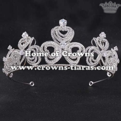 3D Luxury Zircon Diamond Party Crowns Tiaras