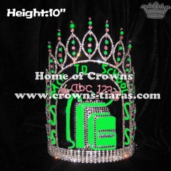 Back To School Apple Autumn Crystal Pageant Crowns