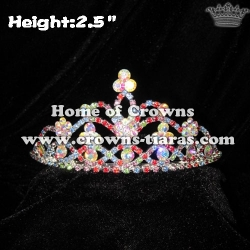 Colorful Crystal Pageant Tiaras