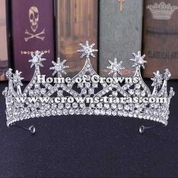 Crystal Wedding Tiaras With Stars On Top