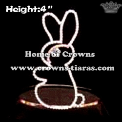 Wholesale Crystal Rabbit Crowns
