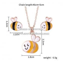 Crystal Children Bees Children Necklace Sets