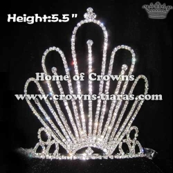 Wholesale Unique Crystlal Queen Crowns