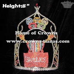 Sweety Candy Custom Crystal Pageant Crowns