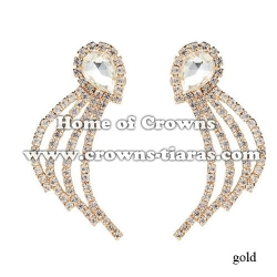 Fashion Rhinestone Earrings With Diamonds
