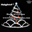 Christmas Tree Shaped Christmas Festival Crowns