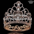 Crystal Rhinestone Full Round Pageant Crowns
