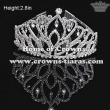 Gorgeous Beauty Pageant Queen Crowns With Dangle Diamonds