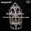 Wholesale 14in Big Tall Pageant Crystal Crowns