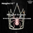 10inch Height Wholesale Crystal Spider Crowns