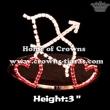 Arrow of Cupid Heart Love Crowns