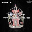 10in Height Crystal Custom Cupcake Pageant Crowns