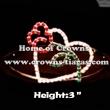 Crystal Rose Valentines Crowns
