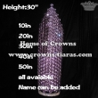 30in Height Wholesale Large Pageant Diamonds Crowns