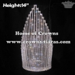 14inch Height Spike Crystal Pageant Crowns