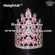 Whole Pink Diamond Queen Crowns