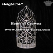14inch Big Crystal Wholesale Pageant Crowns