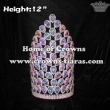 12inch Big AB Diamond Pageant Crowns