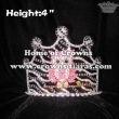 Custom Crystal Pink Owl Pageant Crowns