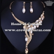 Wholesale Simple Wedding Party Necklace Set