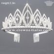 Wholesale Crystal Rhinestone National Princess Tiaras