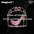 Pink Black High Heel Crowns